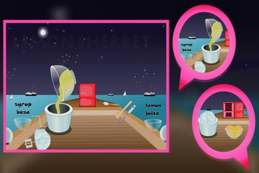 Cooking Game : Lemon Sherbet screenshot 2