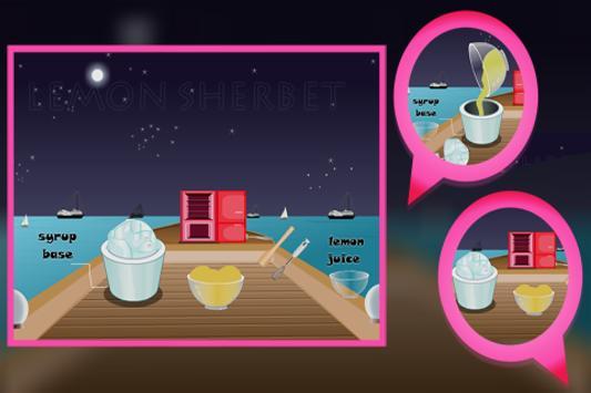 Cooking Game : Lemon Sherbet screenshot 3