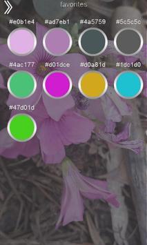 Color Code Detector, Camera Color Finder, Colors screenshot 2