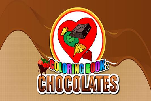 Coloring Book Chocolates poster