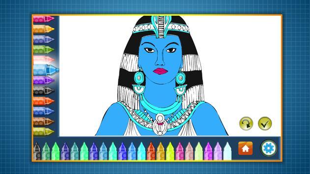Coloring Book Egypt screenshot 6