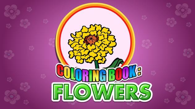 Coloring Book Flowers screenshot 5