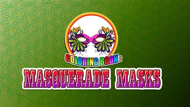 Coloring Book Masquerade Masks screenshot 5