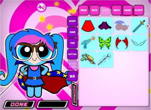 Cute Power Dress Up for Girls screenshot 1