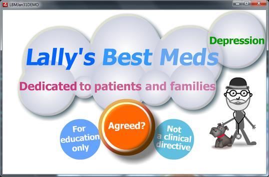 Depression: Lally's Best Meds apk screenshot