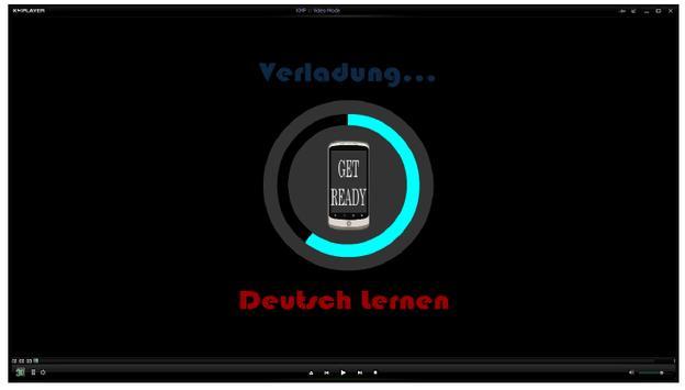 Deutsch Lernen poster