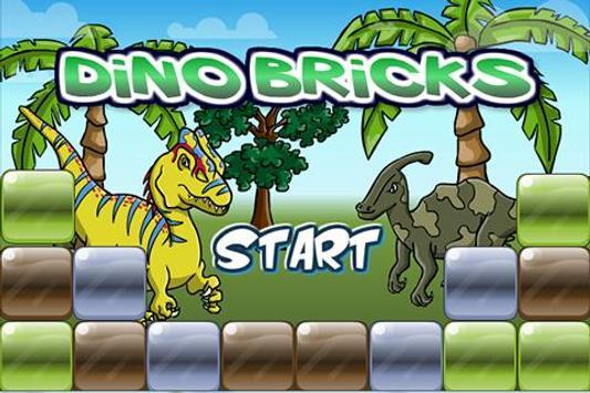 DinoGamez Dino Bricks poster
