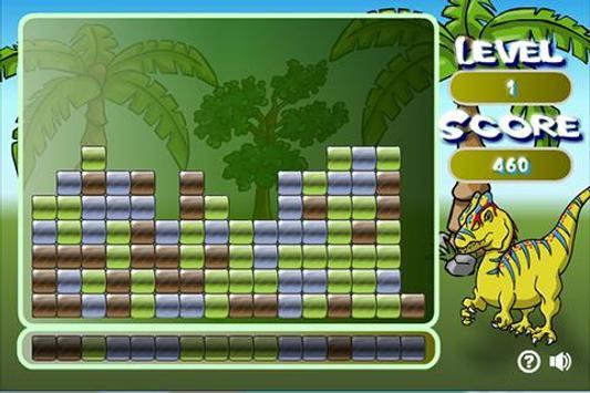 DinoGamez Dino Bricks apk screenshot