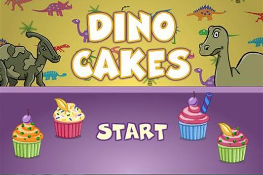 DinoGamez Dino Cakes poster