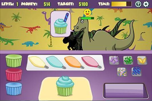 DinoGamez Dino Cakes screenshot 1