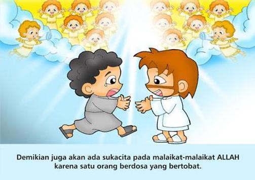 Komik Alkitab Dirham yg Hilang apk screenshot