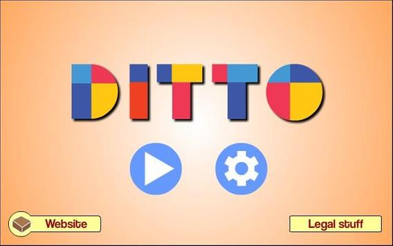 Ditto - Shape Puzzle screenshot 2