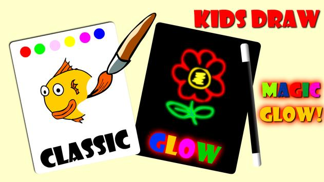 Magic Glow! Draw for toddlers poster