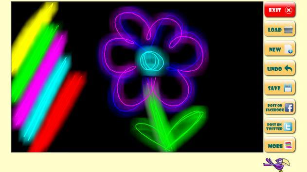 Magic Glow! Draw for toddlers apk screenshot