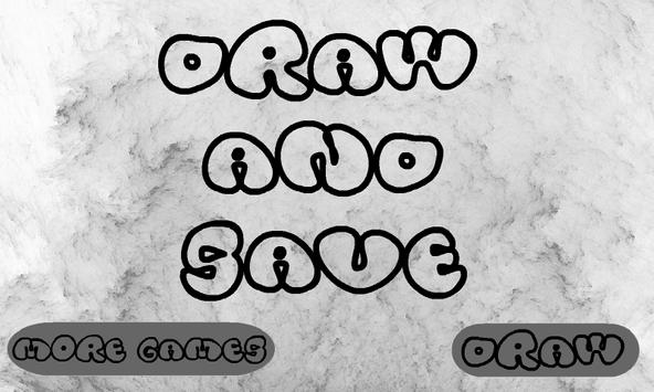 Draw And Save poster