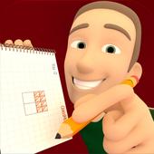 Install Game android antagonis Drawing Square logic free game APK gratis