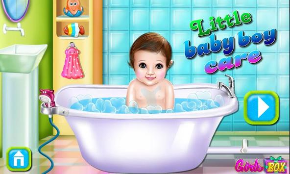 Little Baby Boy Care poster