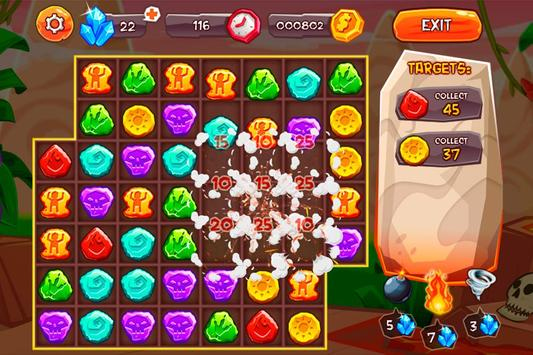 Evolution Jewels Match 3 screenshot 4