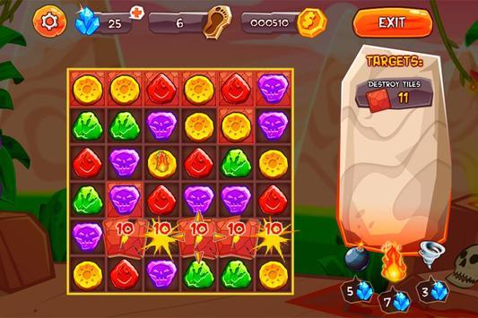 Evolution Jewels Match 3 screenshot 2