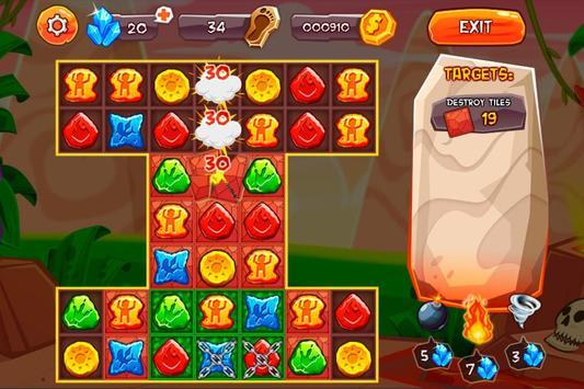 Evolution Jewels Match 3 screenshot 3