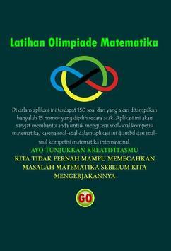 Olimpiade Matematika poster