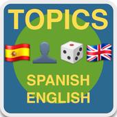 TOPICS ESPAÑOL-INGLÉS icon