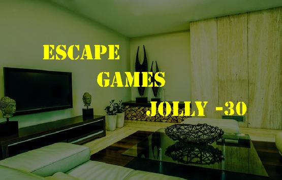 Escape Games Jolly-30 poster
