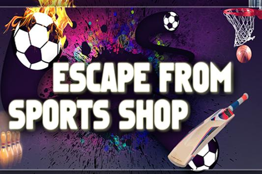 Escape From Sports Shop poster