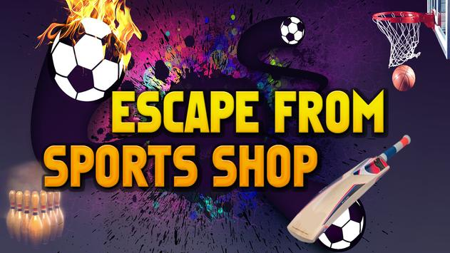 Escape From Sports Shop apk screenshot