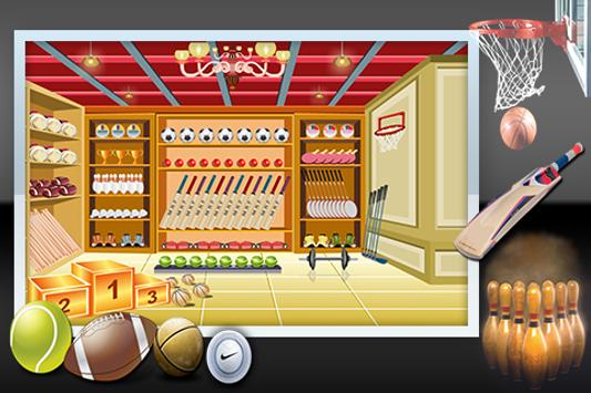 Escape From Sports Shop screenshot 1