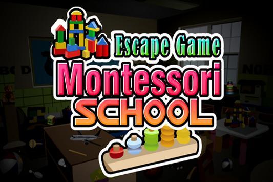Escape Game -Montessori School poster