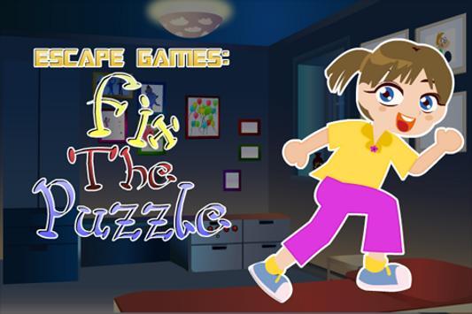 Escape Games : Fix The Puzzle poster