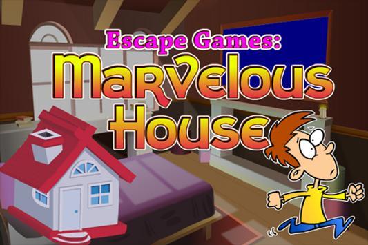 Escape Games : Marvelous House poster