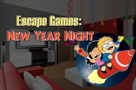 Escape Games : New Year Night poster