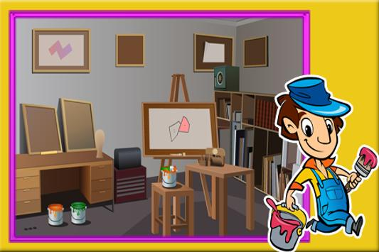 Escape Games : Painter House screenshot 1