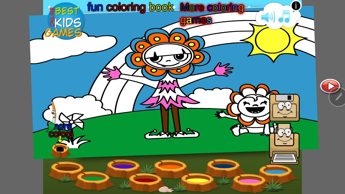 Fun Book with Coloring Pages APK تحميل - مجاني خفيفة ألعاب لأندرويد ...
