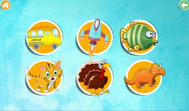 Funny Puzzles. Games for Kids screenshot 2