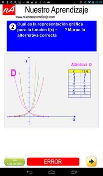 Representando graficamente funciones exponenciales screenshot 3