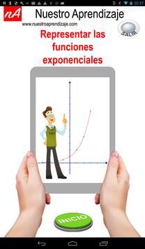 Representando graficamente funciones exponenciales poster