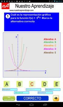Representando graficamente funciones exponenciales screenshot 2