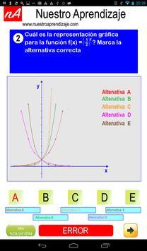 Representando graficamente funciones exponenciales screenshot 9