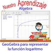GeoGebra para graficar funciones logarítmicas icon