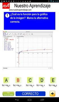 GeoGebra para graficar funciones logarítmicas screenshot 10