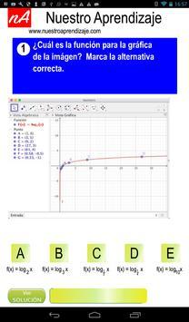 GeoGebra para graficar funciones logarítmicas screenshot 1