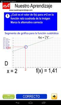 Representar de modo gráfico  función raíz cuadrada screenshot 11