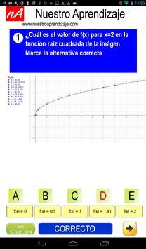 Representar de modo gráfico  función raíz cuadrada screenshot 2