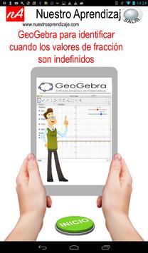 GeoGebra , valores cuando fracción es indefinida screenshot 10