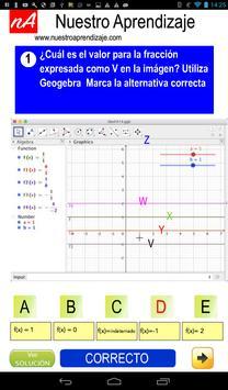 GeoGebra , valores cuando fracción es indefinida screenshot 2