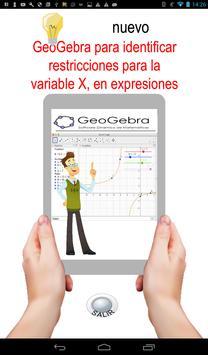 GeoGebra , valores cuando fracción es indefinida screenshot 4