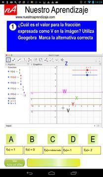 GeoGebra , valores cuando fracción es indefinida screenshot 6